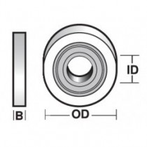 Bearings (Rubber Sealed)
