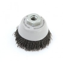 Crimped Wire Cup Brush - Steel