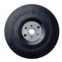 Ribbed Resin Fibre Disc Backing Pad