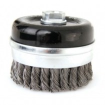 Twist Knot Cup Brush - S.Steel