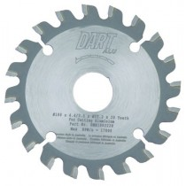 Aluminium Milling Cutter Saw Blade 100mm x 20T x 22.2mm Bore
