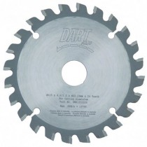 Aluminium Milling Cutter Saw Blade 125mm x 24T x 22.2mm Bore