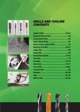 Drills and Tooling